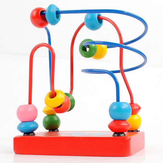 Nuevo-2015-del-bebé-de-juguetes-educativos-para-bebés-niños-de-madera-alrededor-de-los-granos